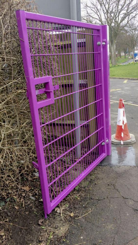 Harcourt Primary School new gate 2