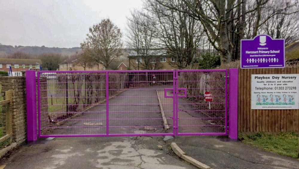 Harcourt Primary School new gate 4