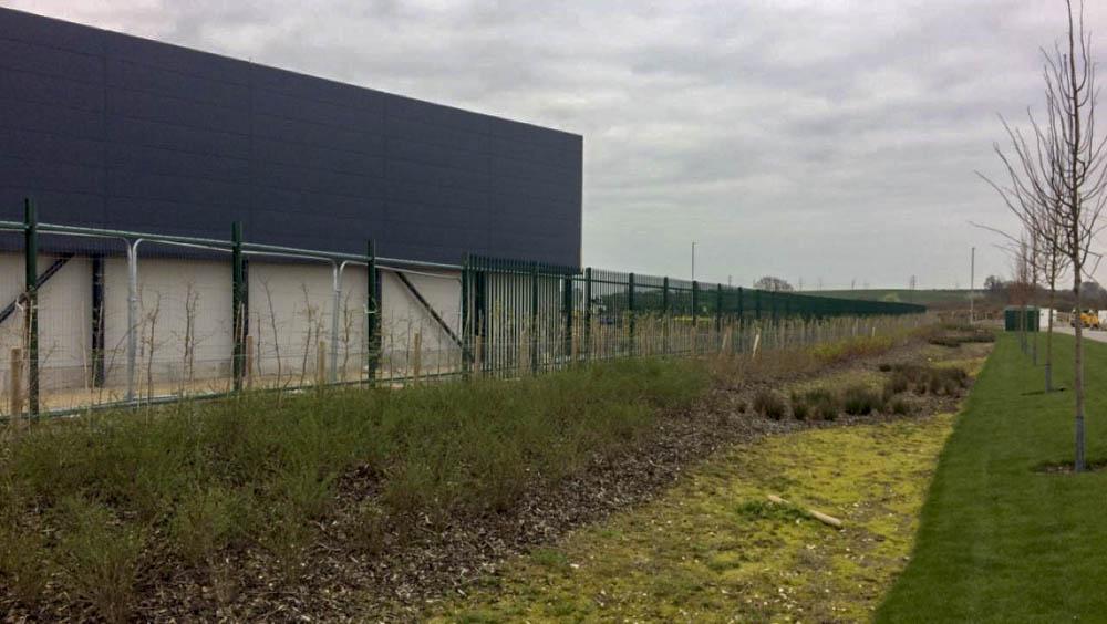 Industrial security Fencing Installation Sittingbourne 1