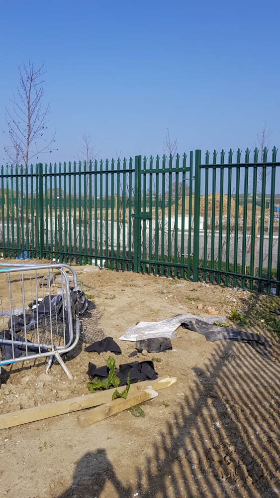 Industrial security Fencing Installation Sittingbourne 8
