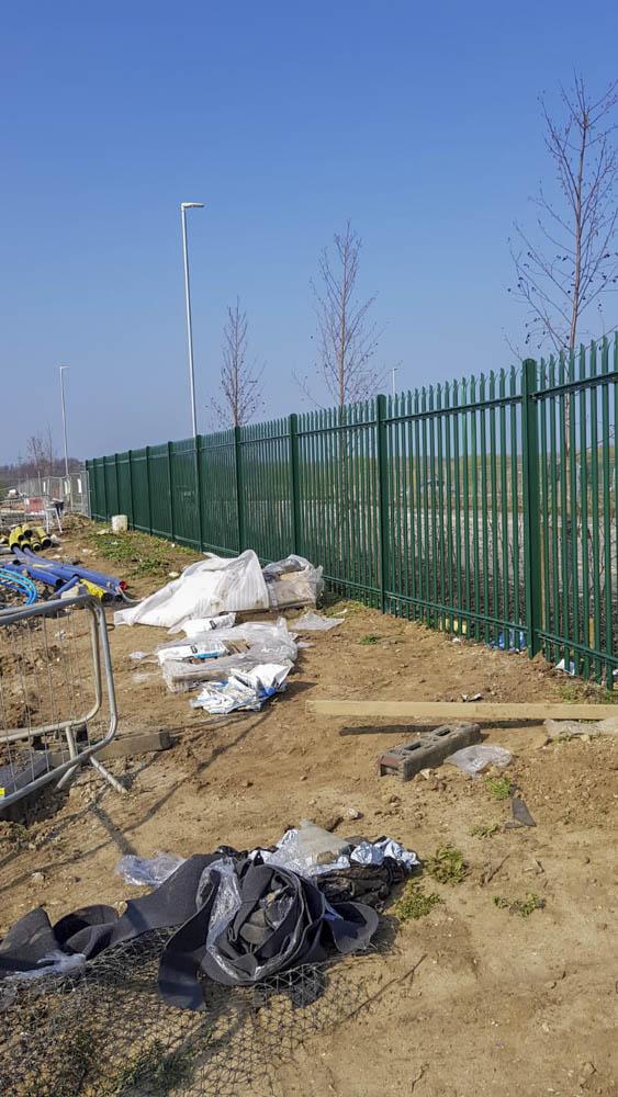Industrial security Fencing Installation Sittingbourne 9