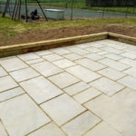 Extension slabs and fence repair Eastry 1