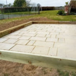 Extension slabs and fence repair Eastry 2