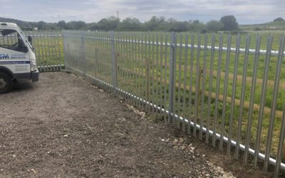 Security Fencing for riding stables
