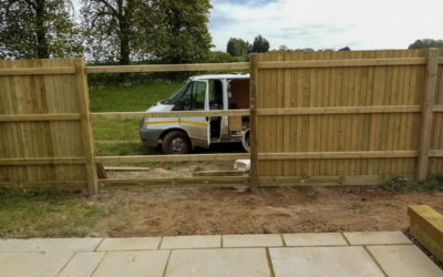 Extension slabs and fence repair Eastry