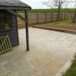 Extension slabs and fence repair Eastry 3